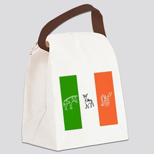 Pictish Ireland Flag Canvas Lunch Bag