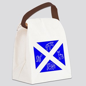 Pictish Scotland Flag #2 Canvas Lunch Bag