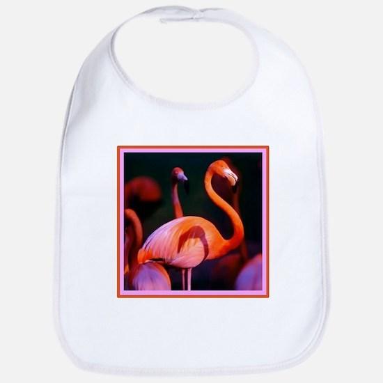 Pink Flamingo Bib