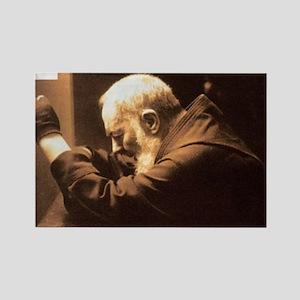 Padre Pio Rectangle Magnet