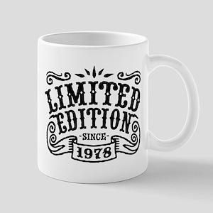 Limited Edition Since 1978 Mug