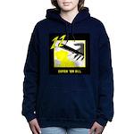 Cutch em all Yellow Women's Hooded Sweatshirt
