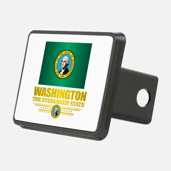 Washington Flag (v15) Hitch Cover