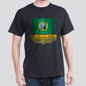 Washington Flag (v15) T-Shirt