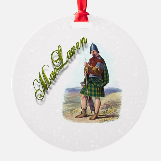 Clan MacLaren Ornament