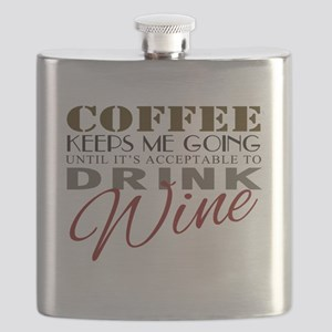 Coffee keeps me going Flask