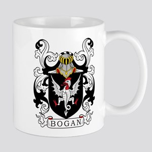 Bogan Family Crest Mugs