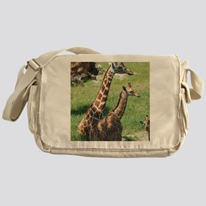 Giraffes Messenger Bag