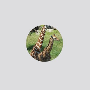 Giraffes Mini Button
