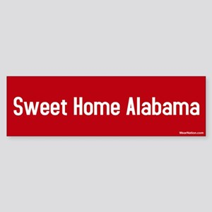 Sweet Home Alabama Bumper Sticker