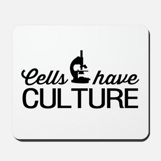 cells have culture Mousepad