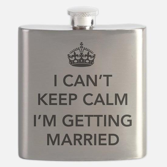 I Can't Keep Calm, I'm Getting Married Flask