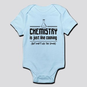 chemistry is like cooking Body Suit
