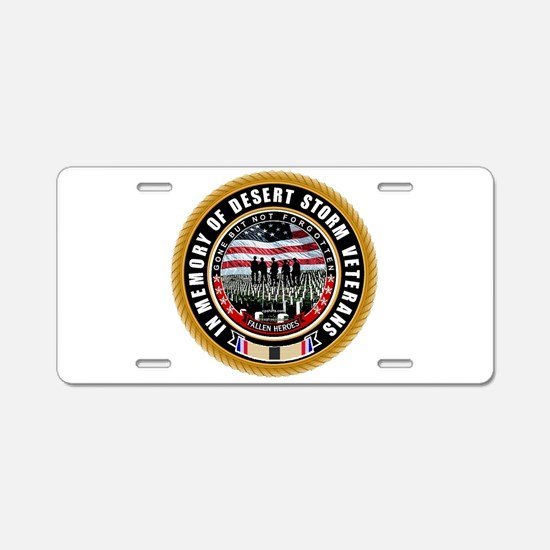 Cute Afghanistan war Aluminum License Plate
