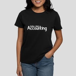 coffee plus math equals accounting T-Shirt