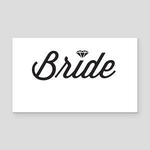 Diamond Bride Rectangle Car Magnet