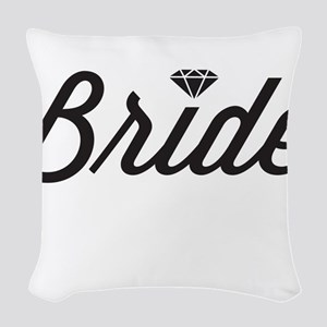 Diamond Bride Woven Throw Pillow