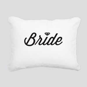 Diamond Bride Rectangular Canvas Pillow