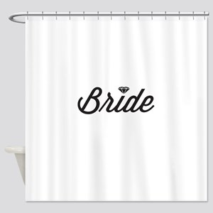 Diamond Bride Shower Curtain