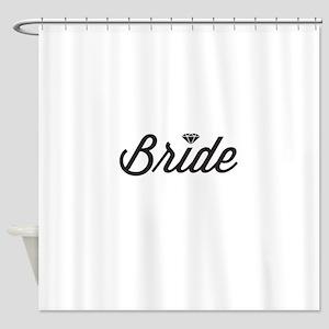 Diamond Bride Shower Curtain