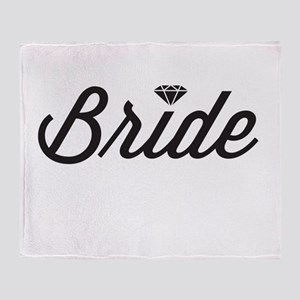 Diamond Bride Throw Blanket