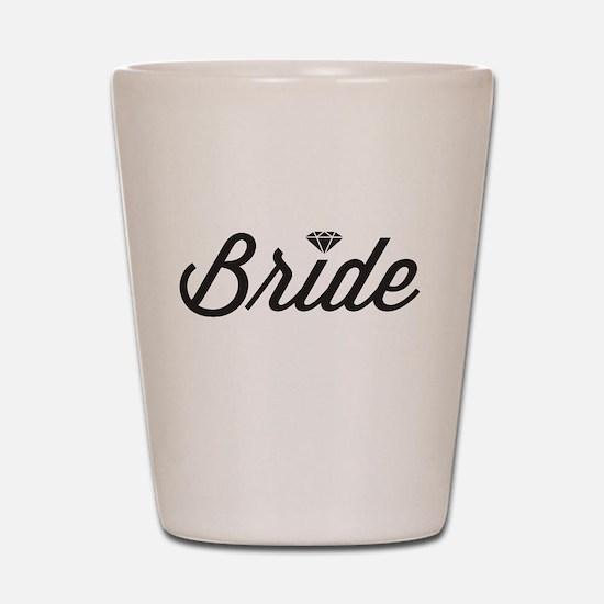 Diamond Bride Shot Glass