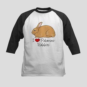 I Heart Palomino Rabbits Baseball Jersey