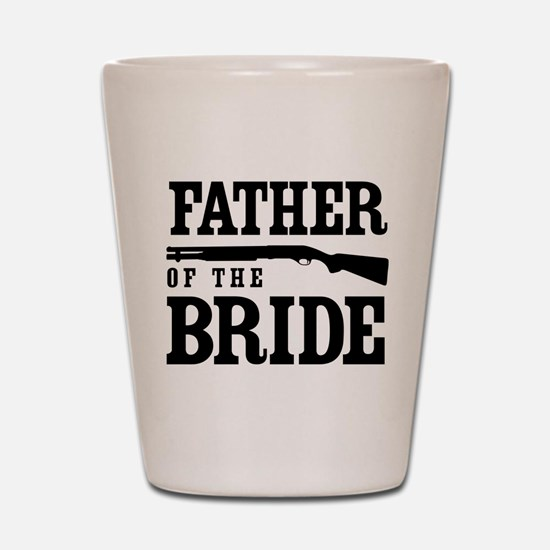 Father of the Bride Shot Glass