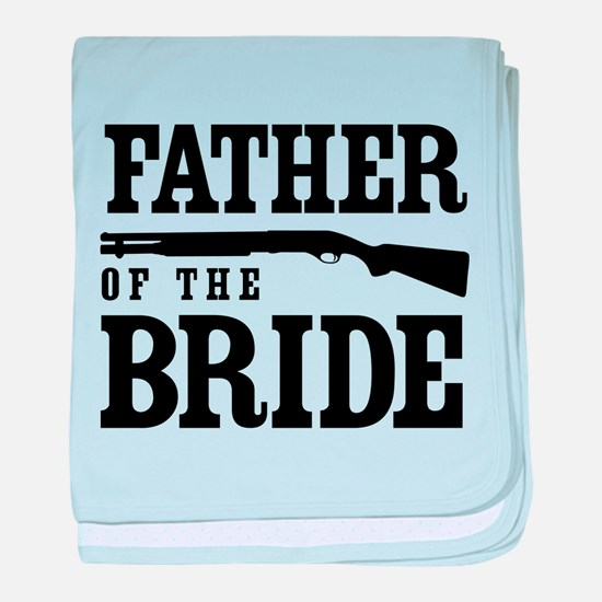 Father of the Bride baby blanket