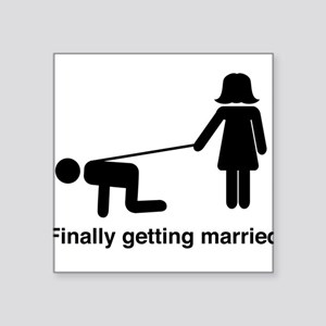 Finally Getting Married Sticker