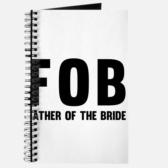 FOB Father of the Bride Journal