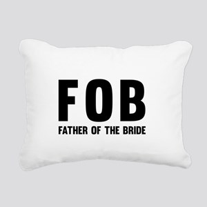 FOB Father of the Bride Rectangular Canvas Pillow