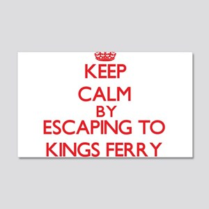 Keep calm by escaping to Kings Ferry Georgia Wall