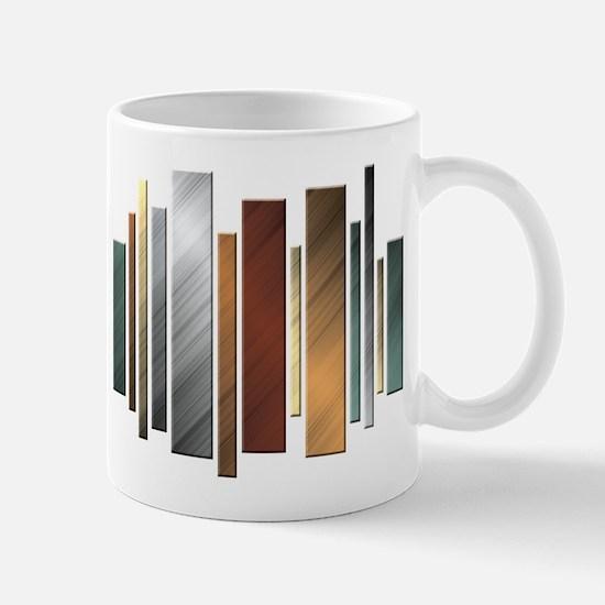 Metallic Bars Mug