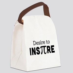 desire to inspire Canvas Lunch Bag
