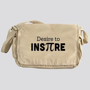 desire to inspire Messenger Bag