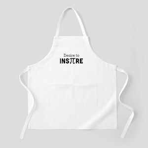 desire to inspire Apron