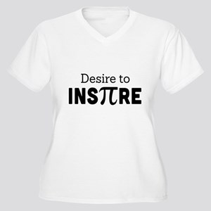 desire to inspire Plus Size T-Shirt