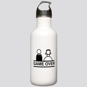 Marriage = Game Over Water Bottle