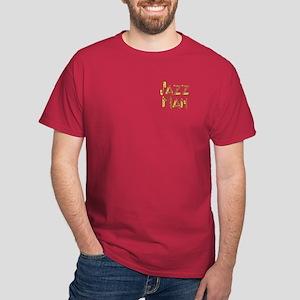 Jazz man saxophone sax Dark T-Shirt