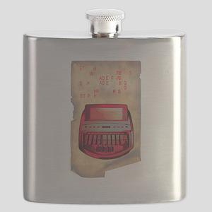 steno junkie Flask