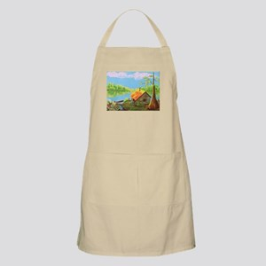 Sitting in the Morning Sun Apron