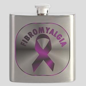 FIBROMYALGIA SILVER Flask