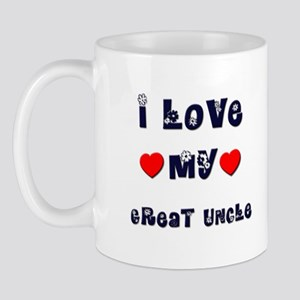 I Love MY GREAT UNCLE Mug