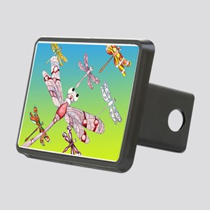 Dragonflies Rectangular Hitch Cover