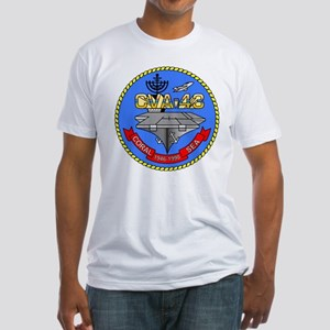 Personalized USS Coral Sea CV-43 Fitted T-Shirt