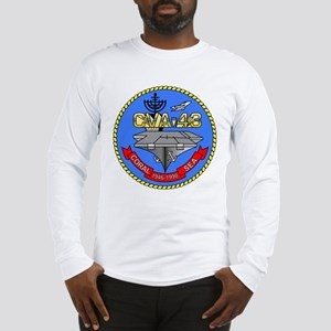 Personalized USS Coral Sea CV- Long Sleeve T-Shirt