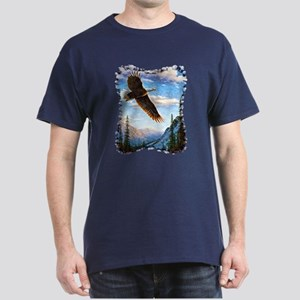Soaring Bald Eagle Dark T-Shirt