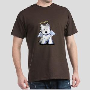 Westie Angel Dark T-Shirt
