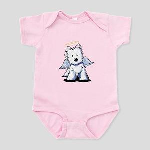 Westie Angel Infant Bodysuit